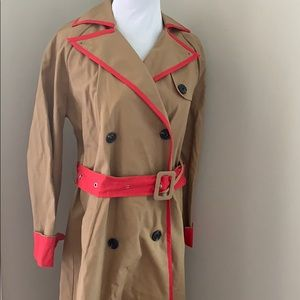 English factory heart beat classic trench